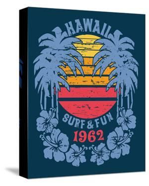 Hawaii Surf and Fun Artwork