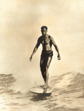 Hawaiian Surfer Duke Kahanamoku
