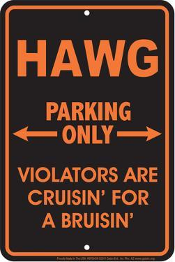 Hawg Parking Only