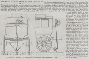 Haworth's Patent Perambulator and Street Railway
