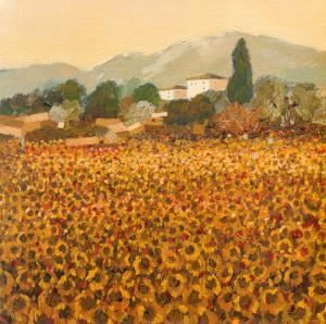 Late Summer, Tuscany by Hazel Barker