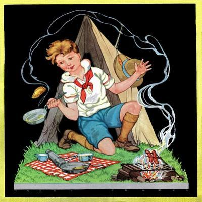 Campfire Cooking - Child Life