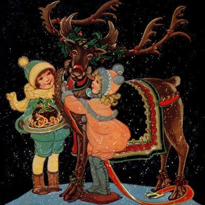 Dressing the Reindeer - Child Life