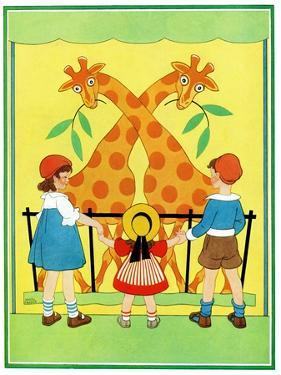 Giraffes - Child Life by Hazel Frazee