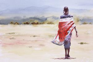 A Girl, Walking by Hazel Soan