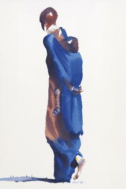 Madonna Blue by Hazel Soan