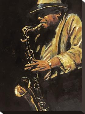 Saxophonist by Hazel Soan
