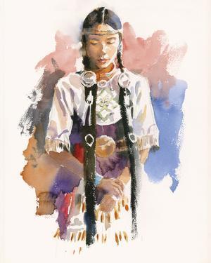 The Dancer in Waiting by Hazel Soan
