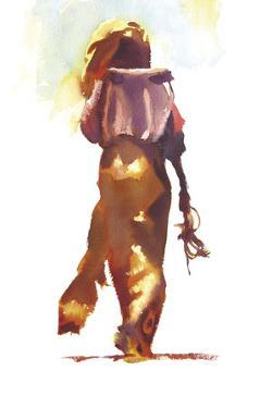 Woman in Gold by Hazel Soan