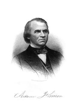 Andrew Johnson, Pres. by HB Hall