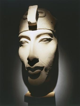 Head of Pharaoh Akhenaten, from Karnak