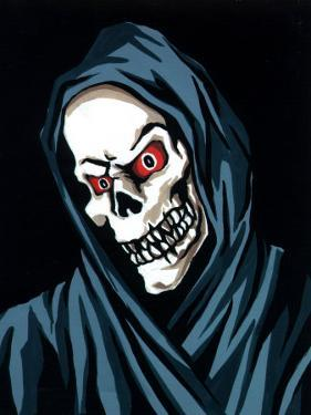 Head Shot of the Grim Reaper