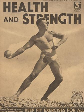 Health and Strength, Body Building Fitness Exercise Gay Magazine, UK, 1938