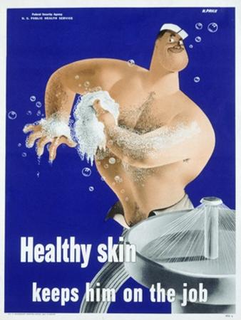 Healthy Skin Keeps Him on the Job