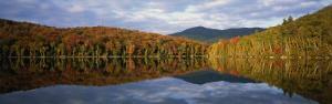 Heart Lake, Adirondack Mountains, New York State, USA