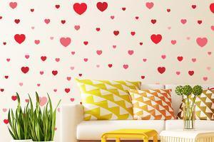 Heart Shaped Wall