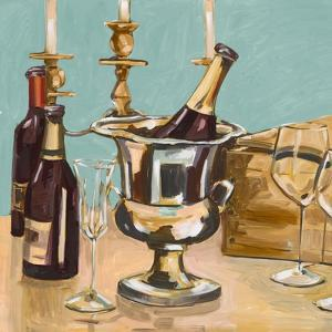 Dinner Party II by Heather A. French-Roussia