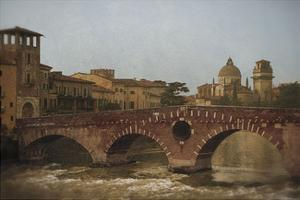Ponte Pietra, Verona by Heather Jacks