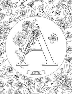 A is for Aster by Heather Rosas