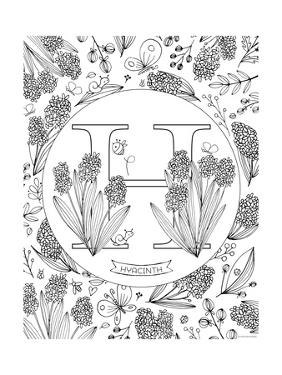H is for Hyacinth by Heather Rosas