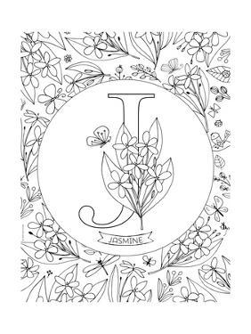 J is for Jasmine by Heather Rosas
