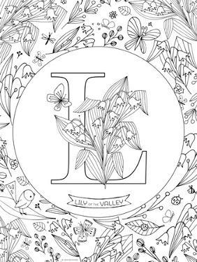 L is for Lily of the Valley by Heather Rosas