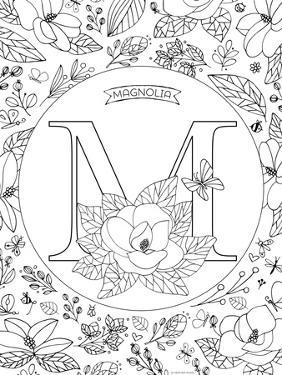 M is for Magnolia by Heather Rosas