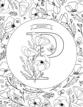 P is for Poppy by Heather Rosas