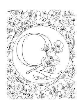 Q is for Quince by Heather Rosas