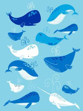 Whale of a Tale Vertical by Heather Rosas