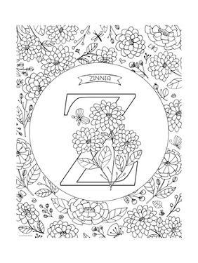 Z is for Zinnia by Heather Rosas