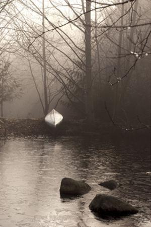 Silvered Morning Pond by Heather Ross