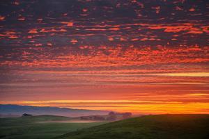 Heavenly Sunrise Burn, Northern California