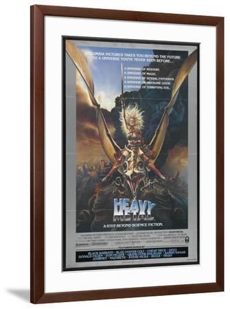 Heavy Metal--Framed Poster