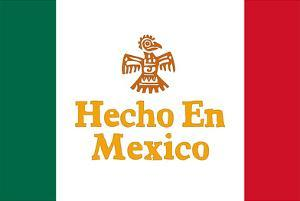 Hecho En Mexico Made in Mexico Art Print Poster