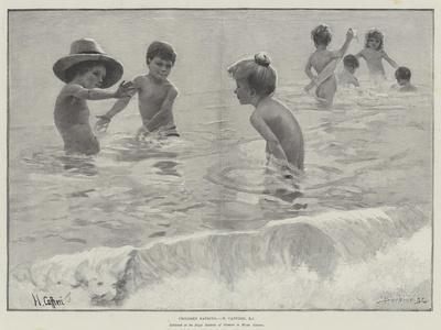 Children Bathing