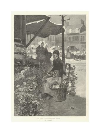 The Flower and Vegetable Market, Boulogne