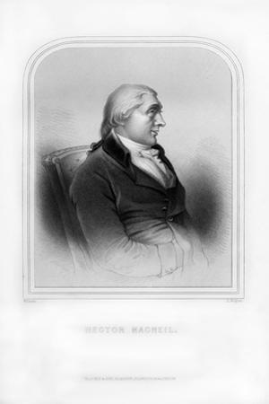 Hector Macneil, Scottish Poet and Writer by J Rogers