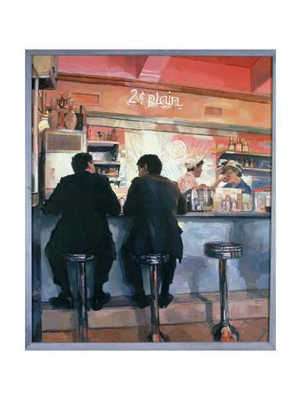 Ice Cream Parlour, New York, 1989