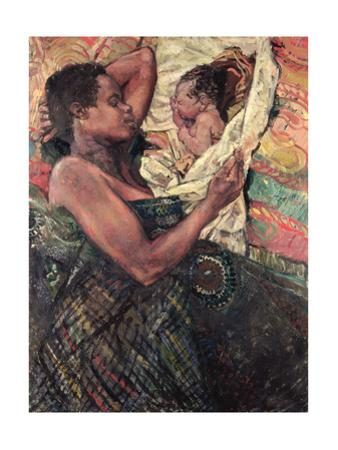 Refugee Mother and Baby, Goma, 1997 by Hector McDonnell