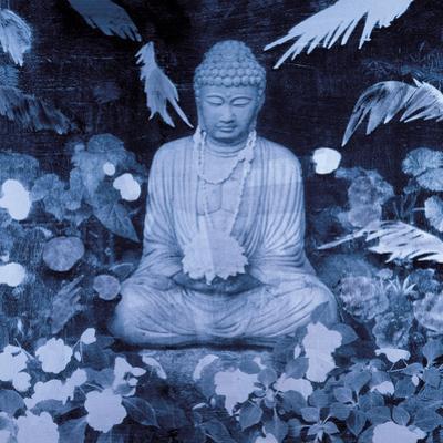 Buddha In The Garden by Hedy Klineman