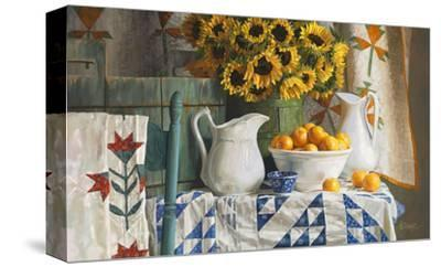 Calico with Sunflowers by Heide Presse
