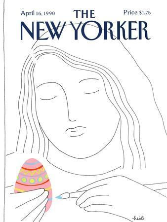The New Yorker Cover - April 16, 1990
