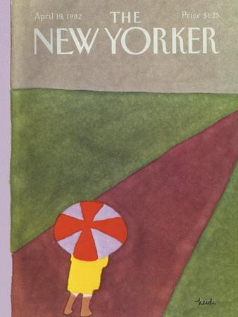 The New Yorker Cover - April 19, 1982
