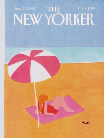 The New Yorker Cover - August 20, 1984