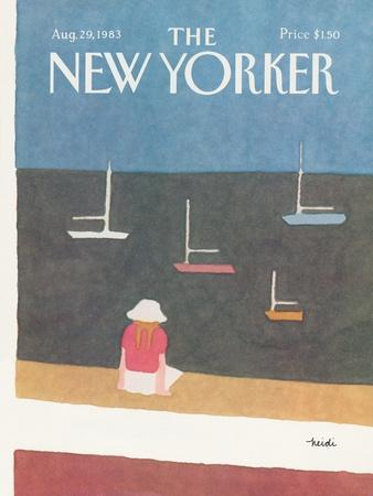The New Yorker Cover - August 29, 1983