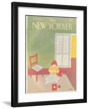 The New Yorker Cover - February 15, 1982 by Heidi Goennel