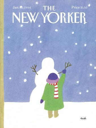 The New Yorker Cover - January 30, 1984