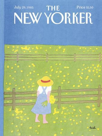 The New Yorker Cover - July 29, 1985