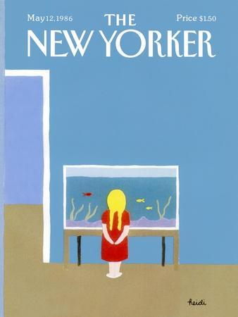 The New Yorker Cover - May 12, 1986